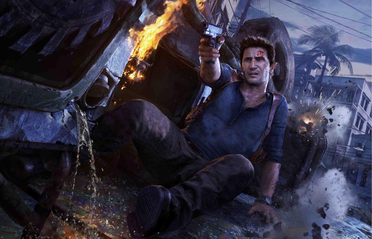 Nathan Drake tar ingen skada i Uncharted-serien
