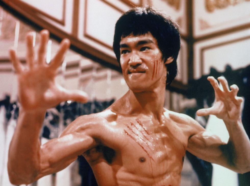 Dog Bruce Lee av överhettning?
