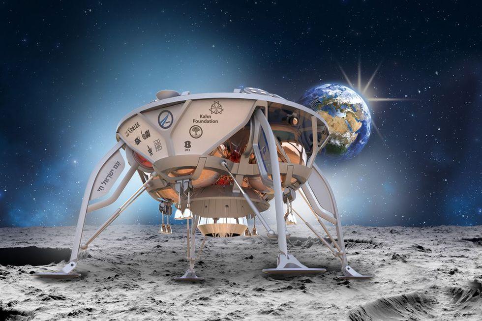 Israel ska landa på månen nästa år