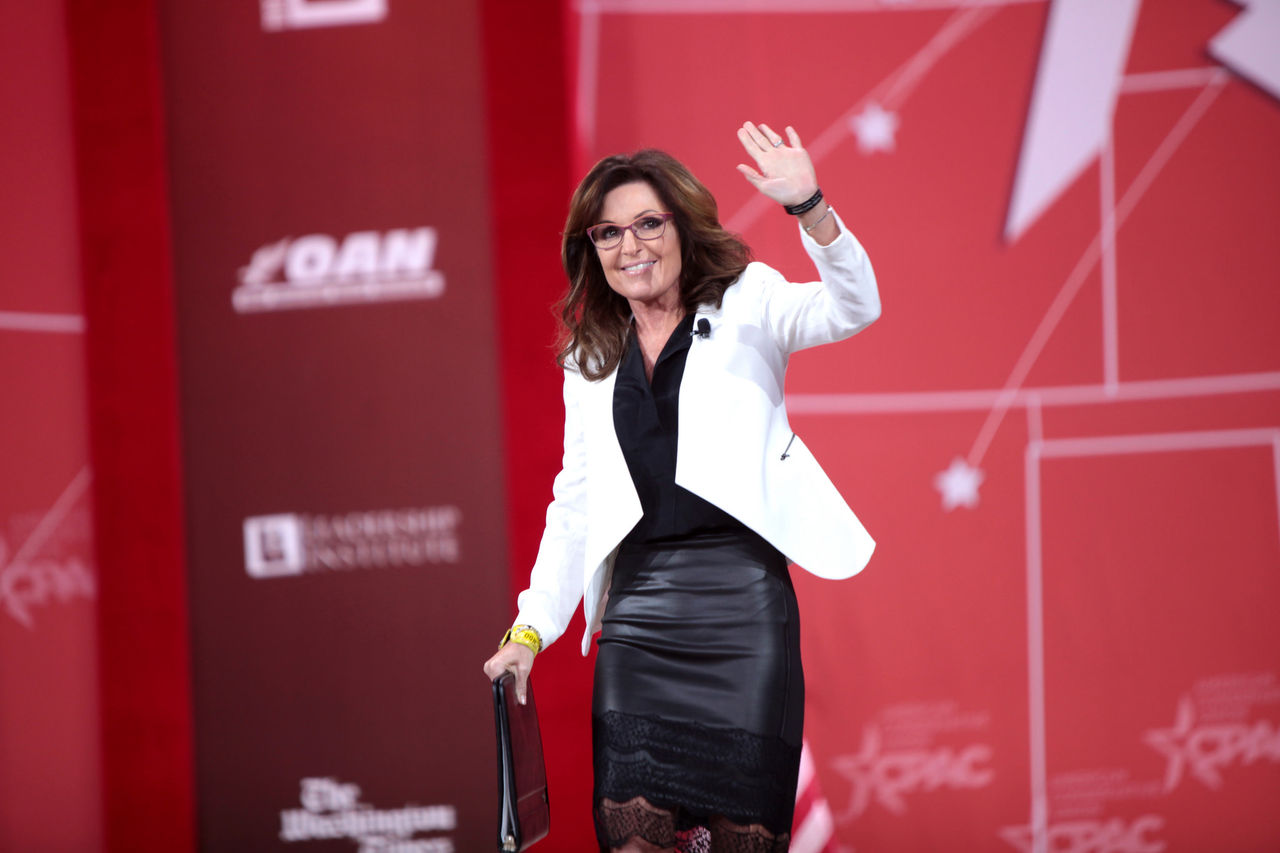 Sarah Palin är sur på Sacha Baron Cohen