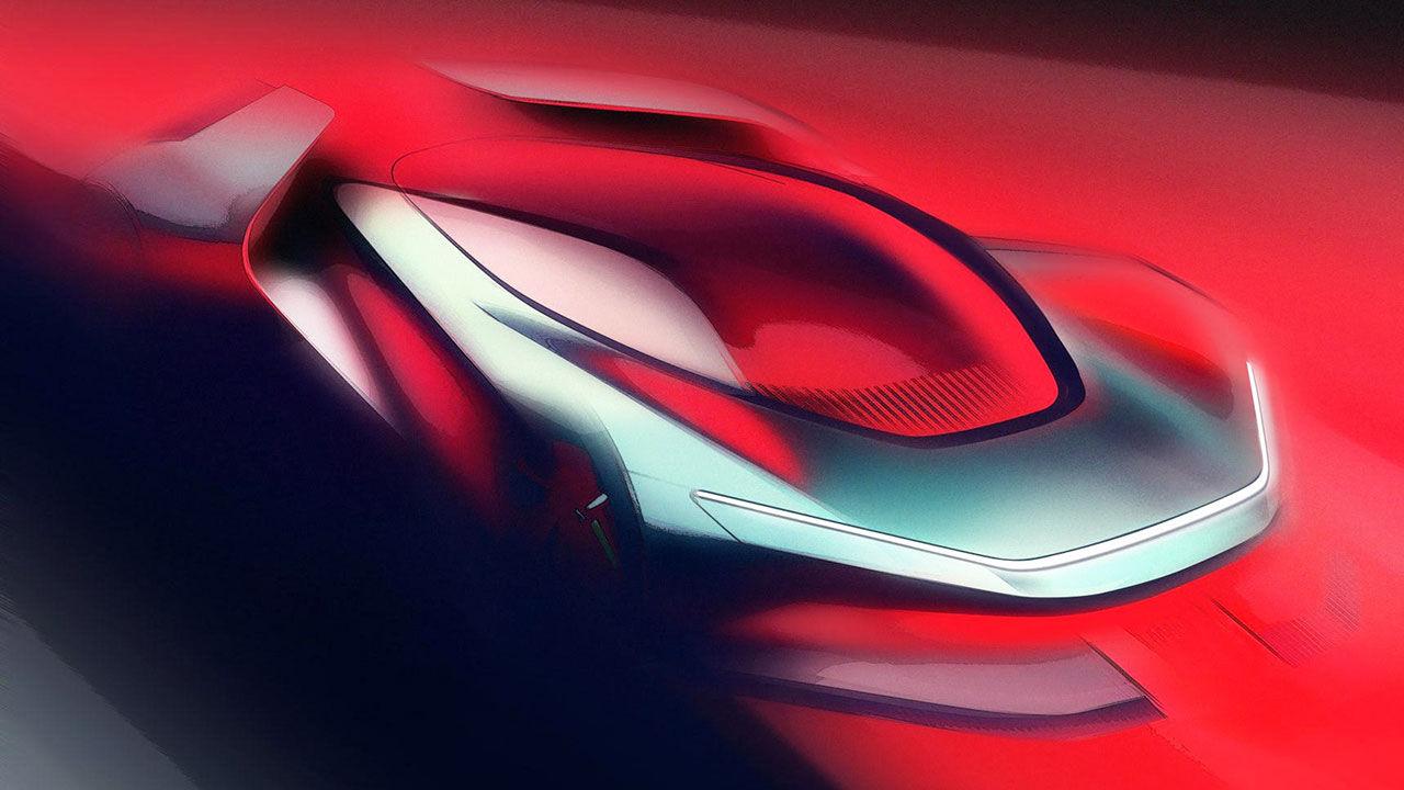 Pininfarina visar teaser på PF0 Concept