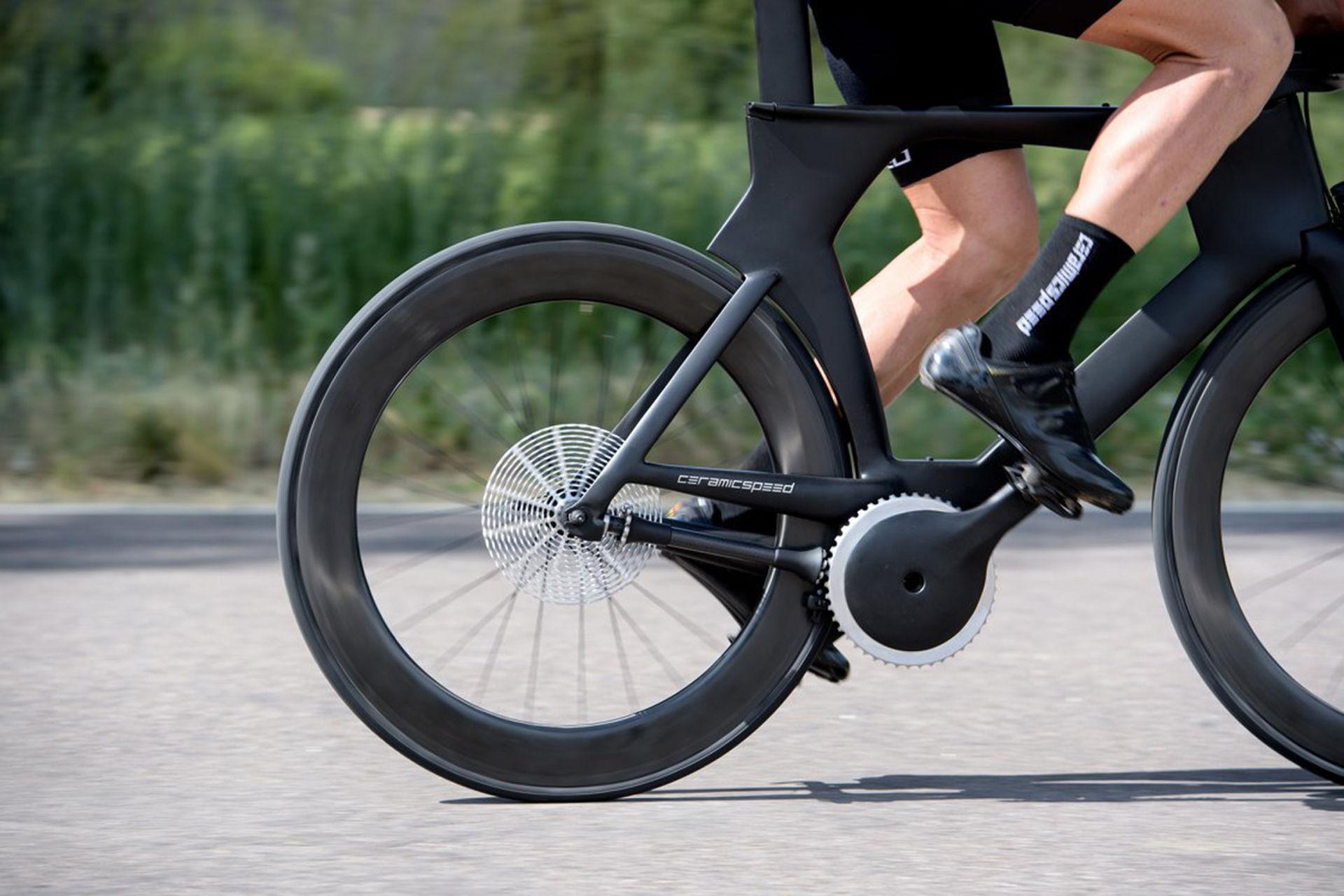 Intressant drivlina till cykel