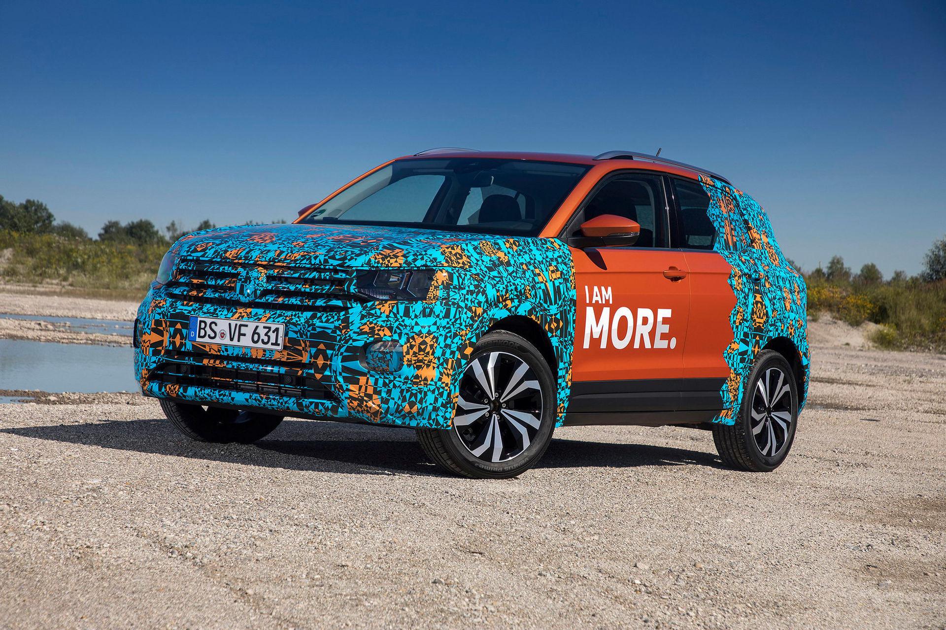 Volkswagen visar maskerad T-Cross