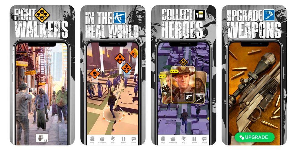AR-spelet The Walking Dead: Our World släppt till mobilen