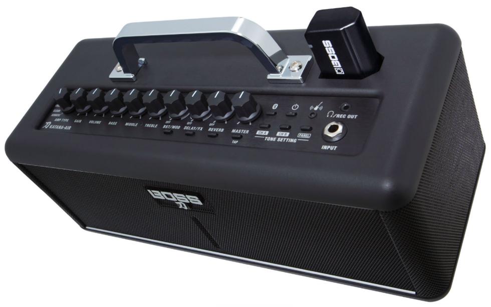 Boss Katana-Air är en trådlös gitarrförstärkare