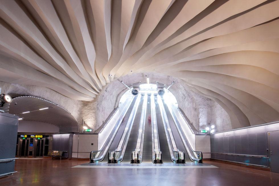 Stationen Stockholm Odenplan har nu öppnats igen