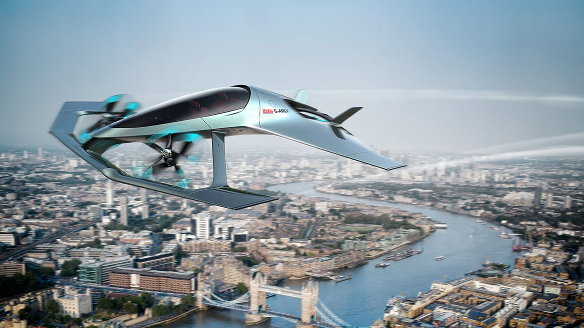 Aston Martin visar självflygande Volante Vision Concept
