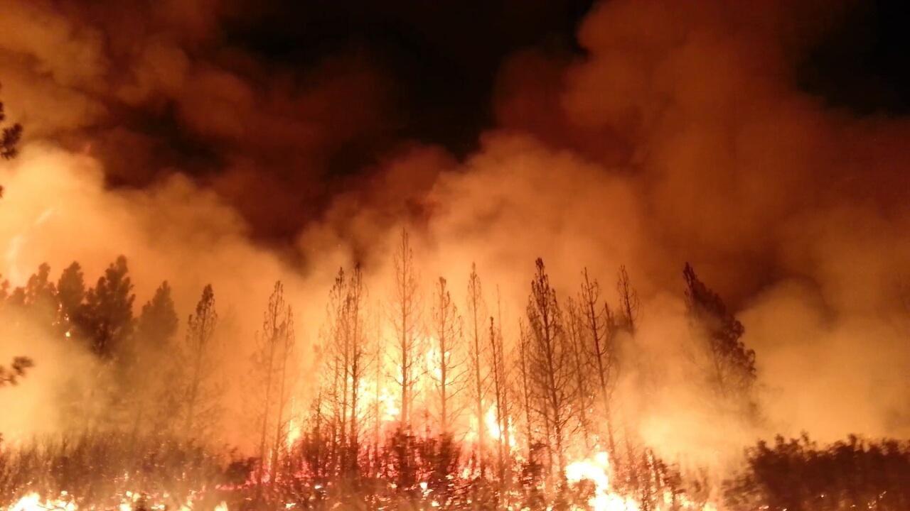 Skogsbrand gör så att radiosändningar i Jämtland avbryts