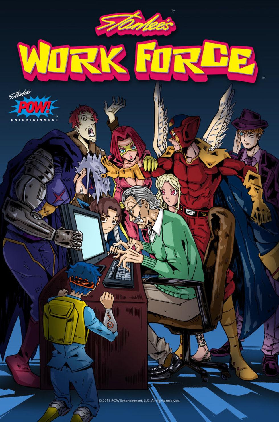 Stan Lee släpper onlinemagasinet Stan Lee's Work Force