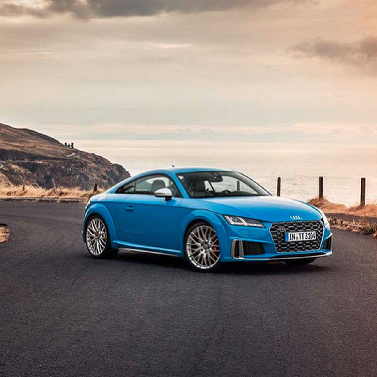 Uppdaterade Audi TT läcker