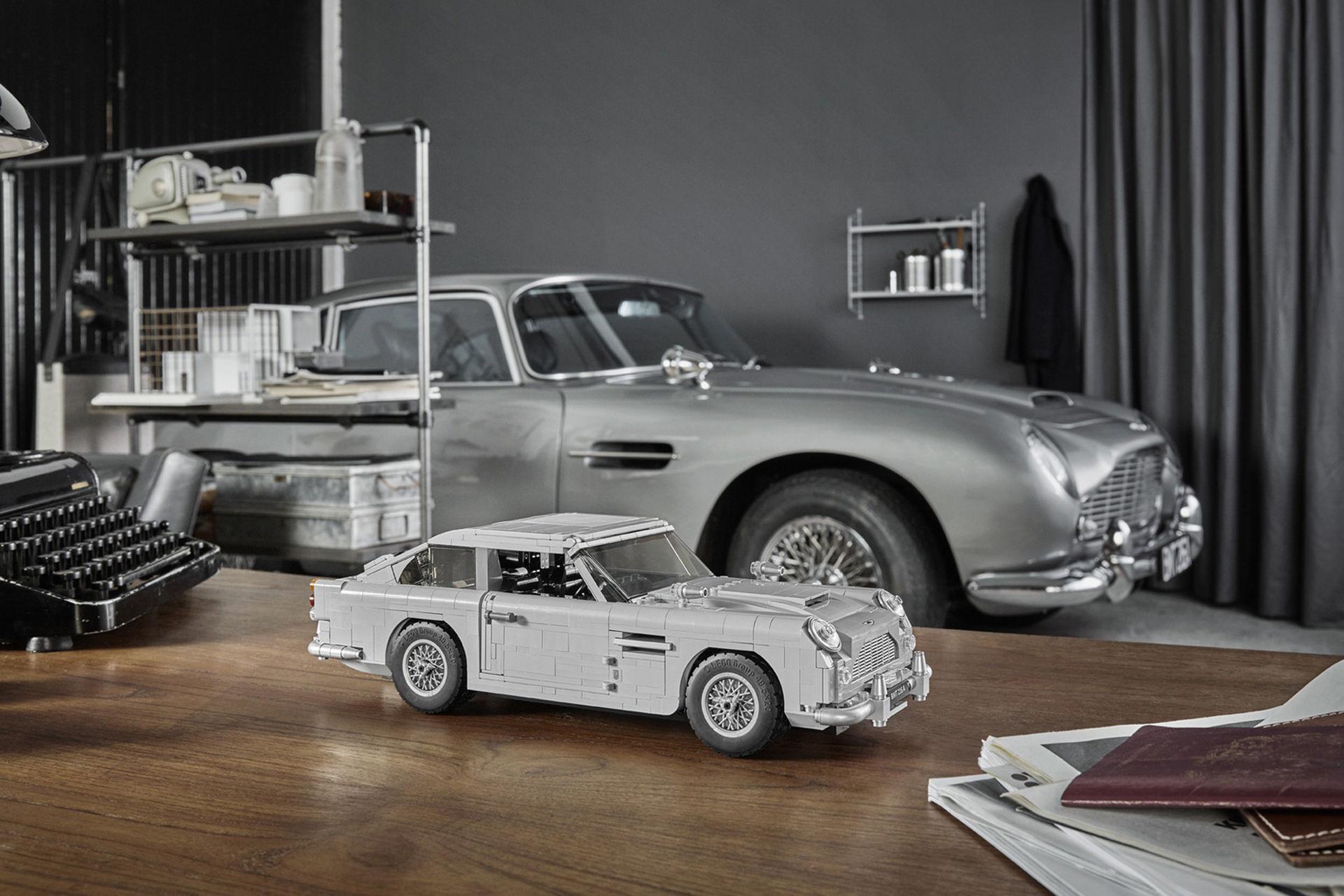 Lego-version av James Bonds Aston Martin DB5