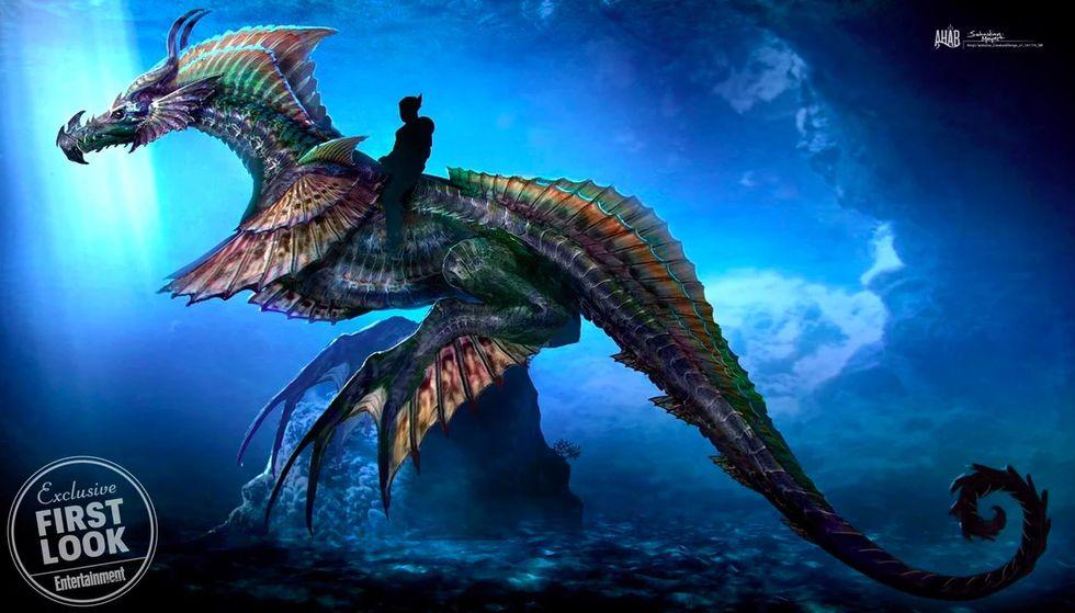 Aquaman byter transportmedel i kommande film