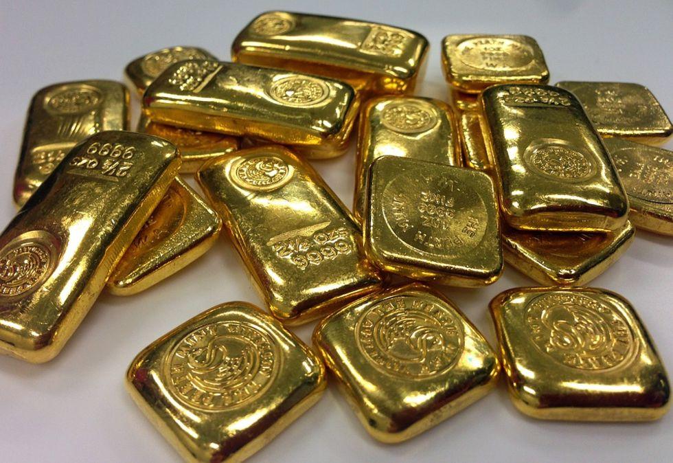 Enorm guldskatt hittad i skeppsvrak