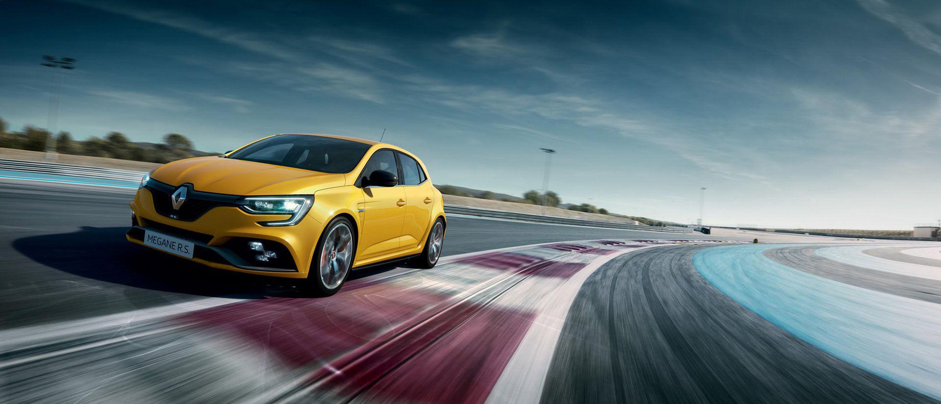 Renault rullar ut vassare version av Mégane RS