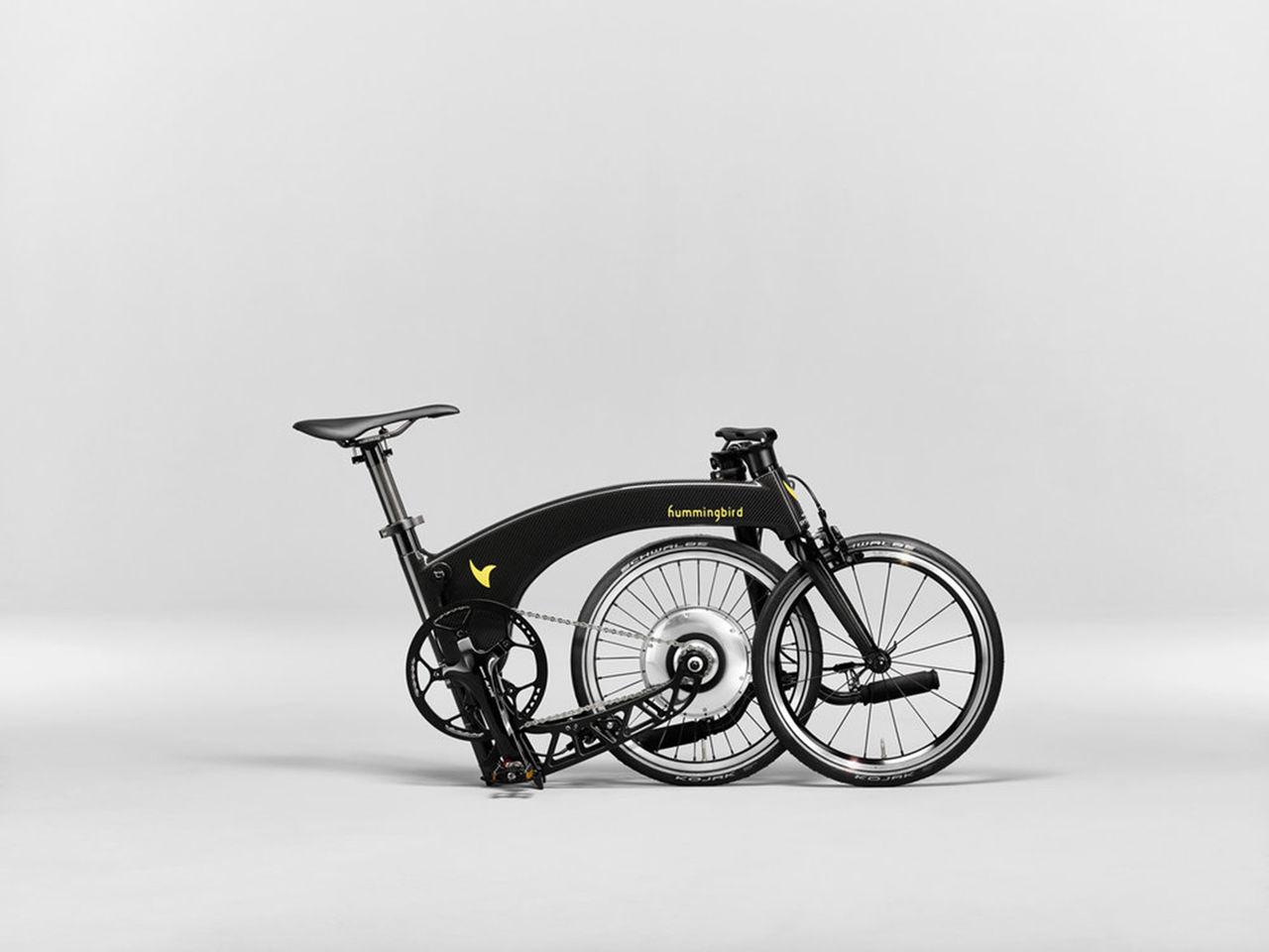 Det här är världens lättaste ihopfällbara elcykel