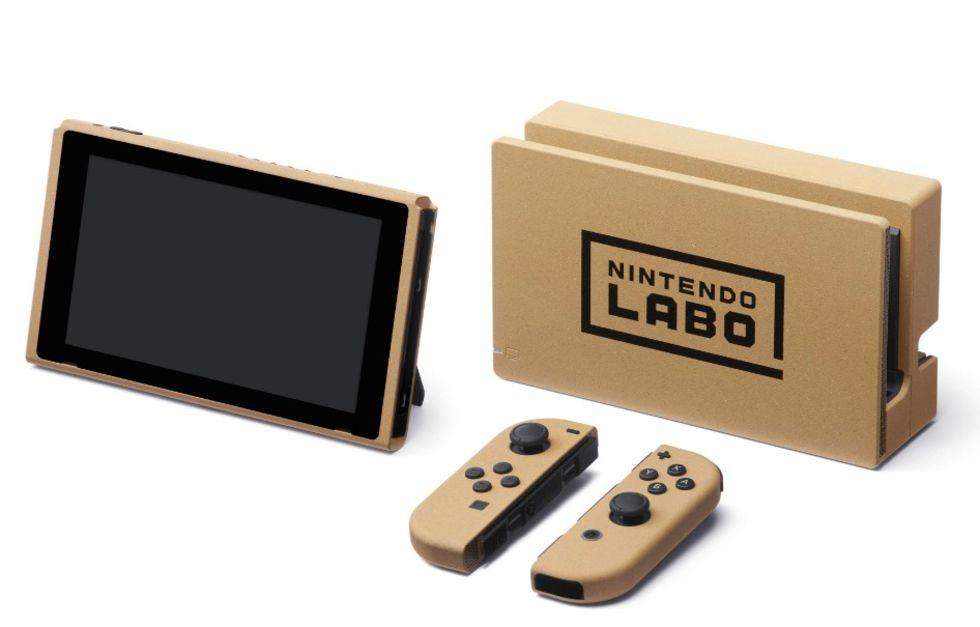Nintendo kör europeisk Nintendo Labo-tävling