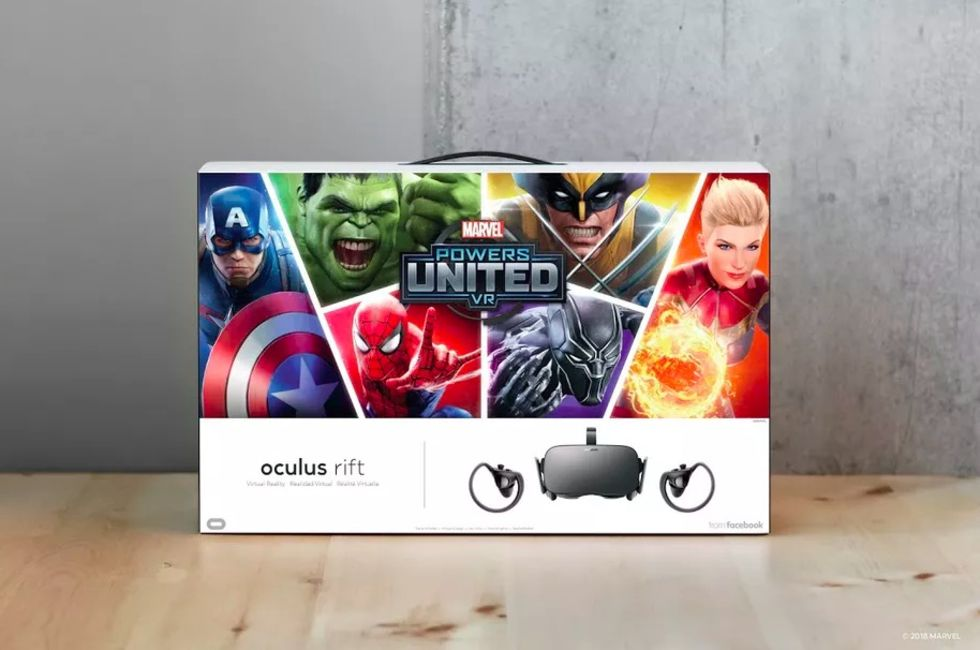 Oculus Rift bundlas med Marvel Powers United VR