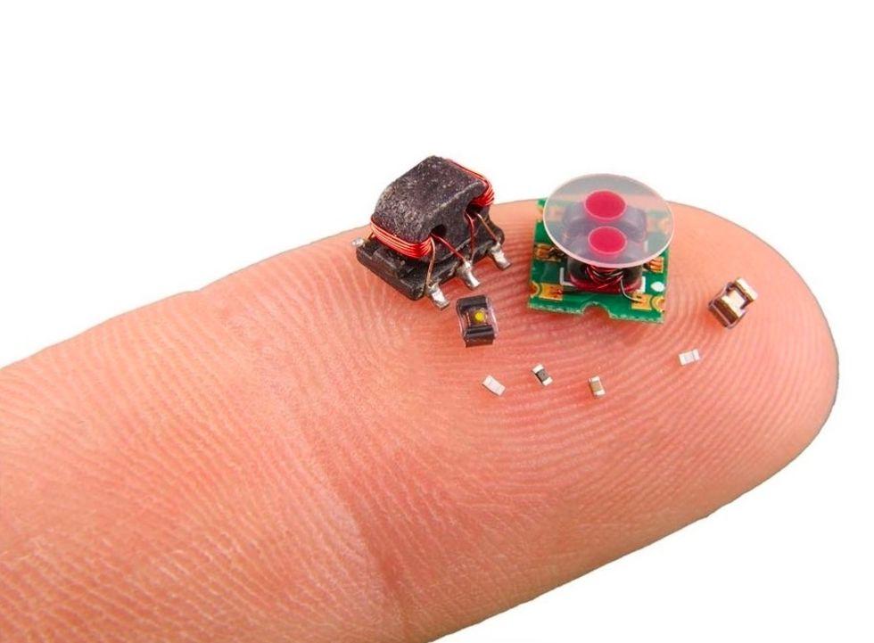 DARPA har utvecklat pyttesmå robotar