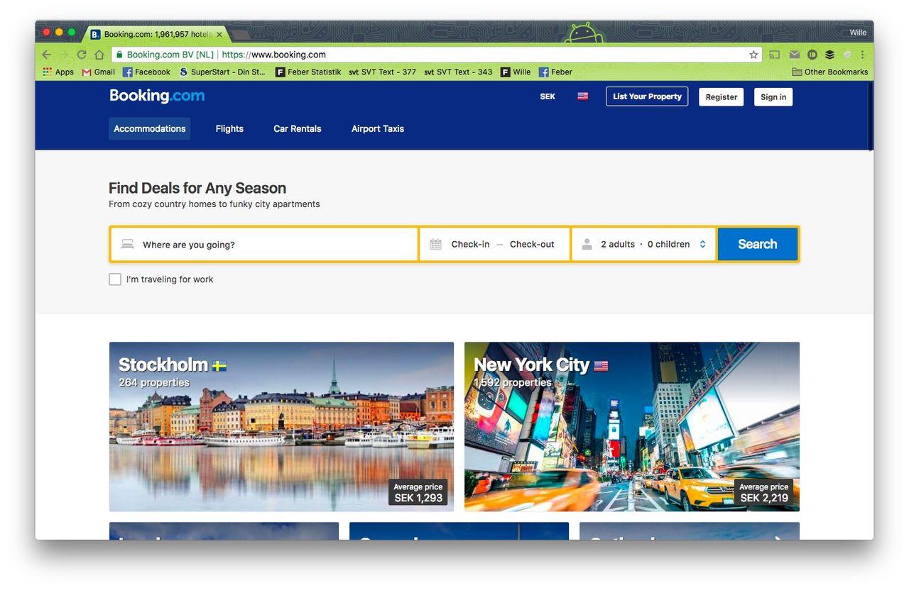 Booking.com fällda i Patent- och Marknadsdomstolen