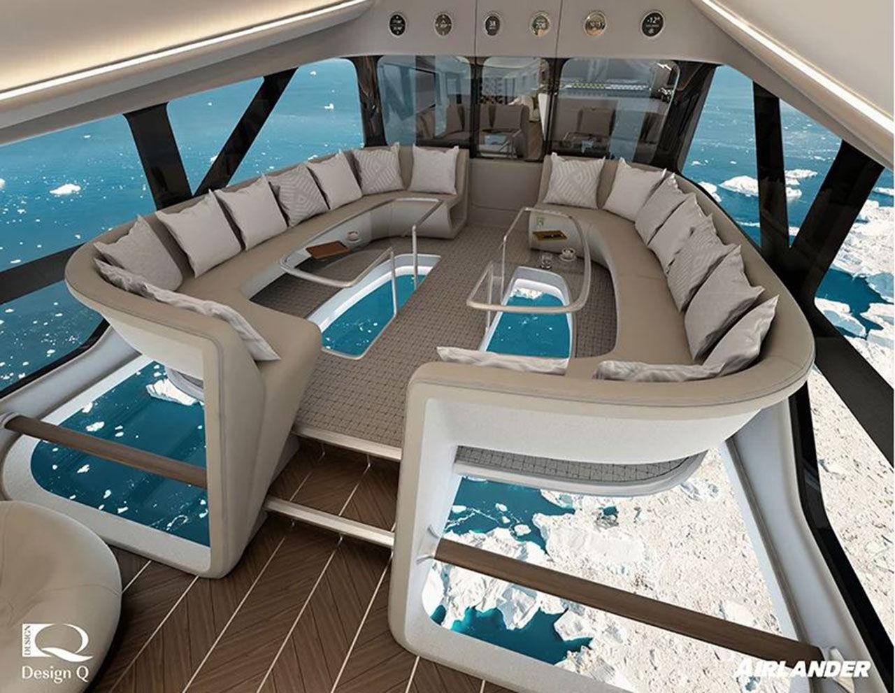 Så här ser insidan på Airlander 10 ut
