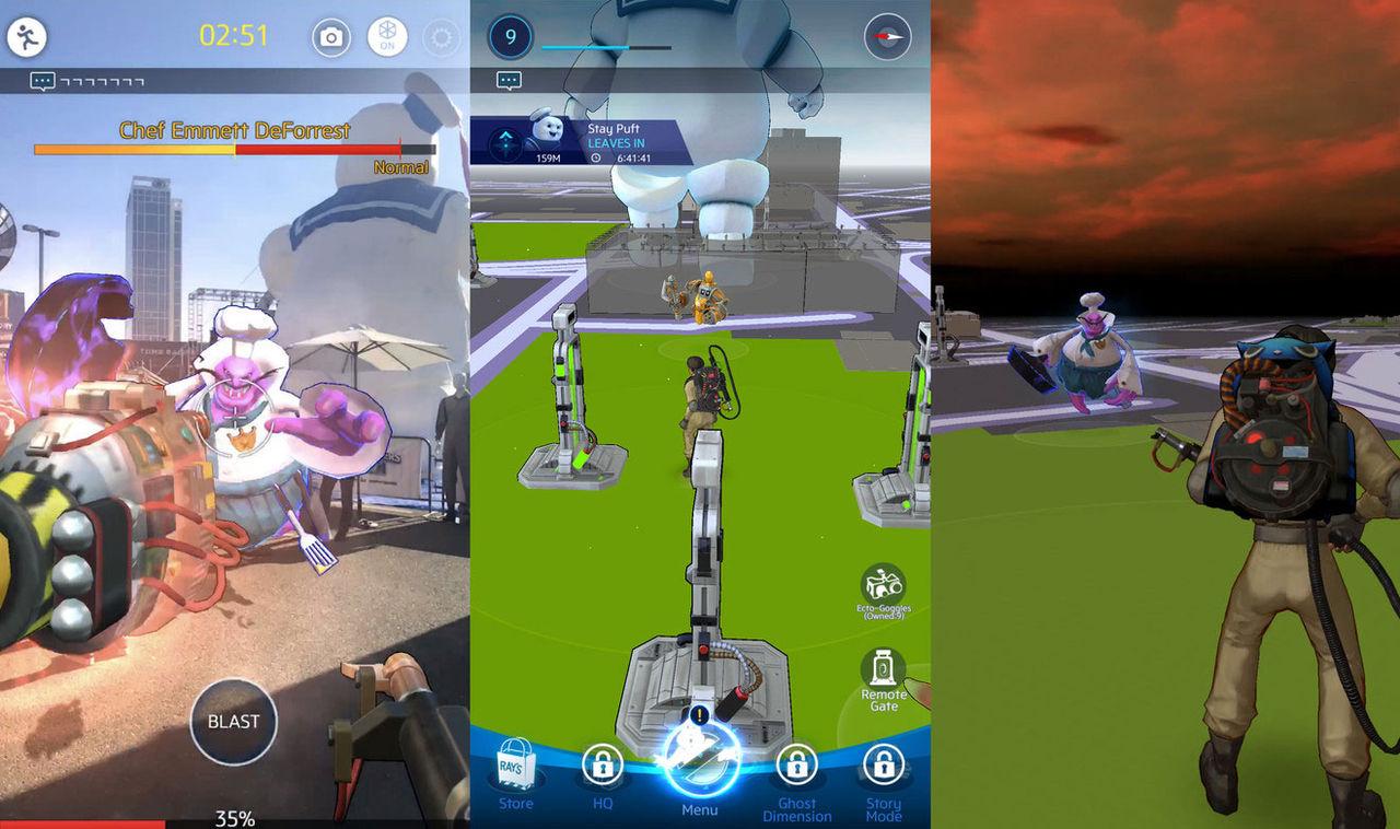 Ghostbusters World är Pokémon GO fast med spöken