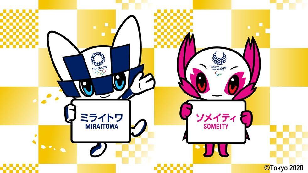 Japan visar upp maskotar för OS i Tokyo 2020