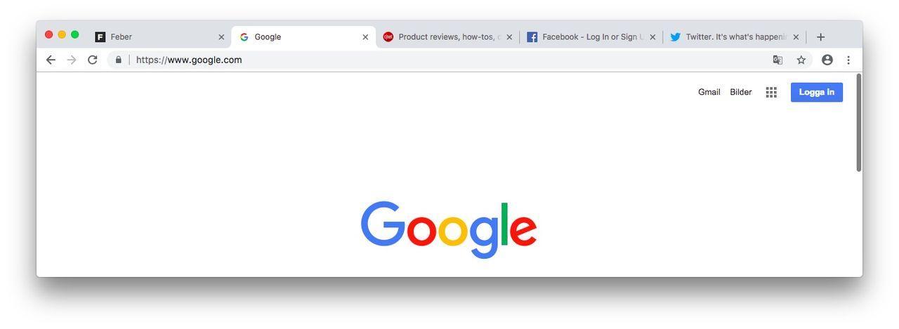 Google testar ny tabb-design i Chrome Canary