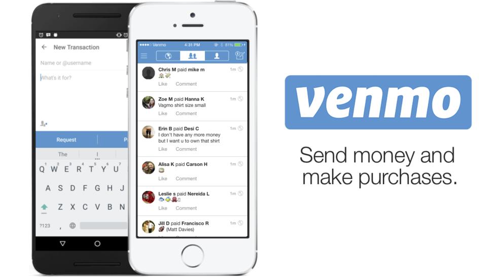 Betaltjänsten Venmos transaktioner är publika