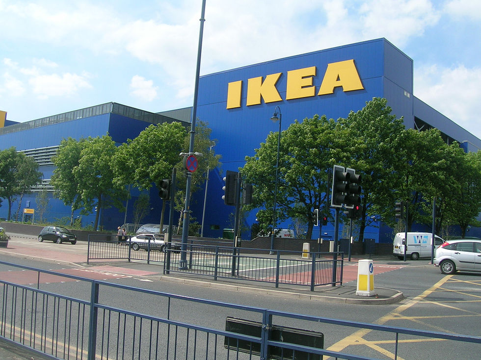 IKEA i Indien ska montera ihop möblerna i affären