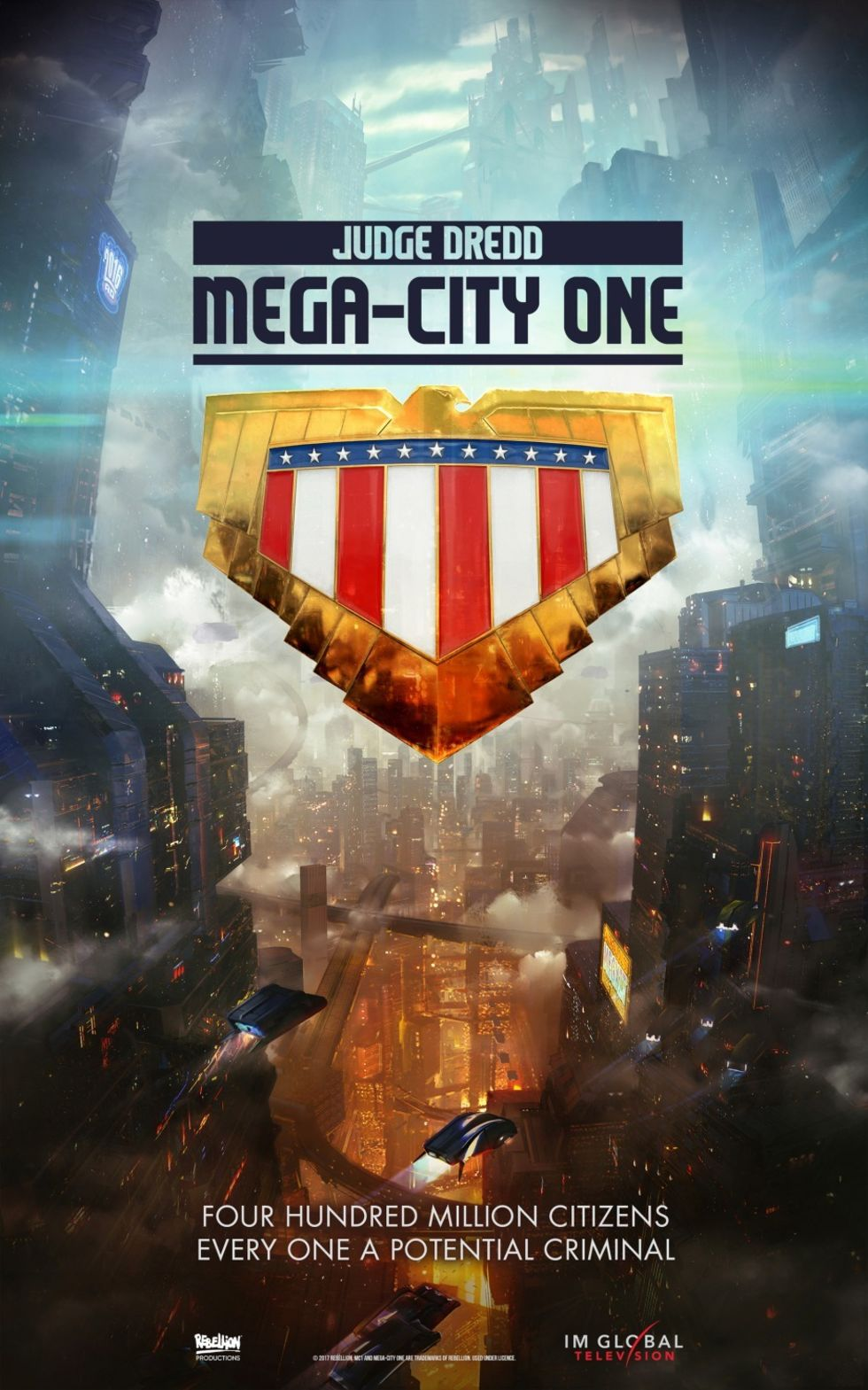 Manus klart till Judge Dredd: Mega-City One