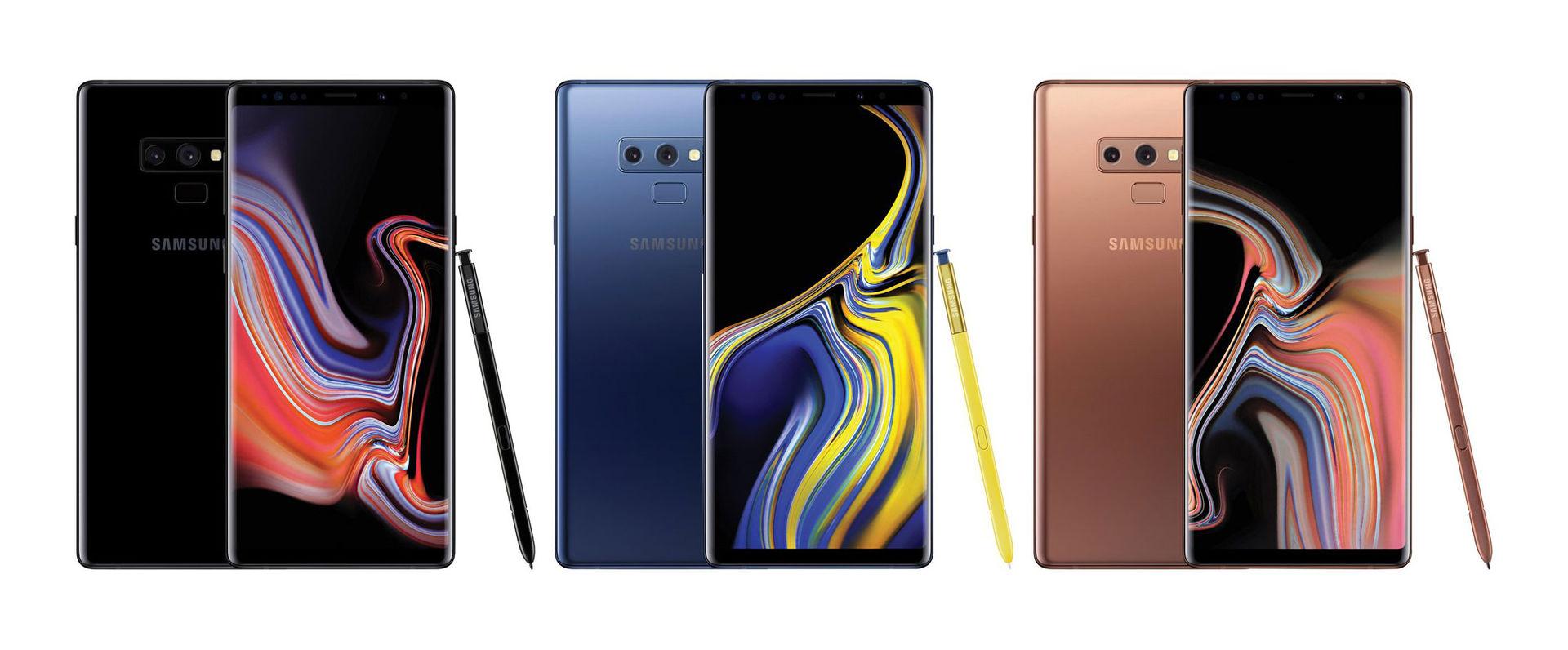Det här är Samsung Galaxy Note 9