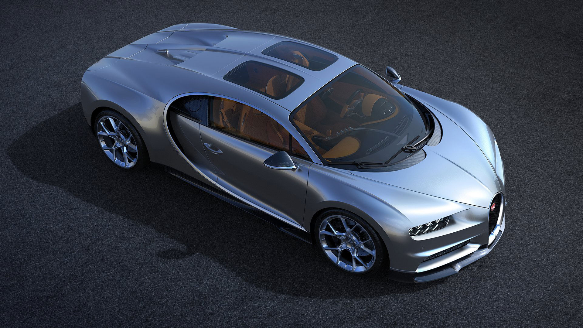 Bugatti Chiron får glastak