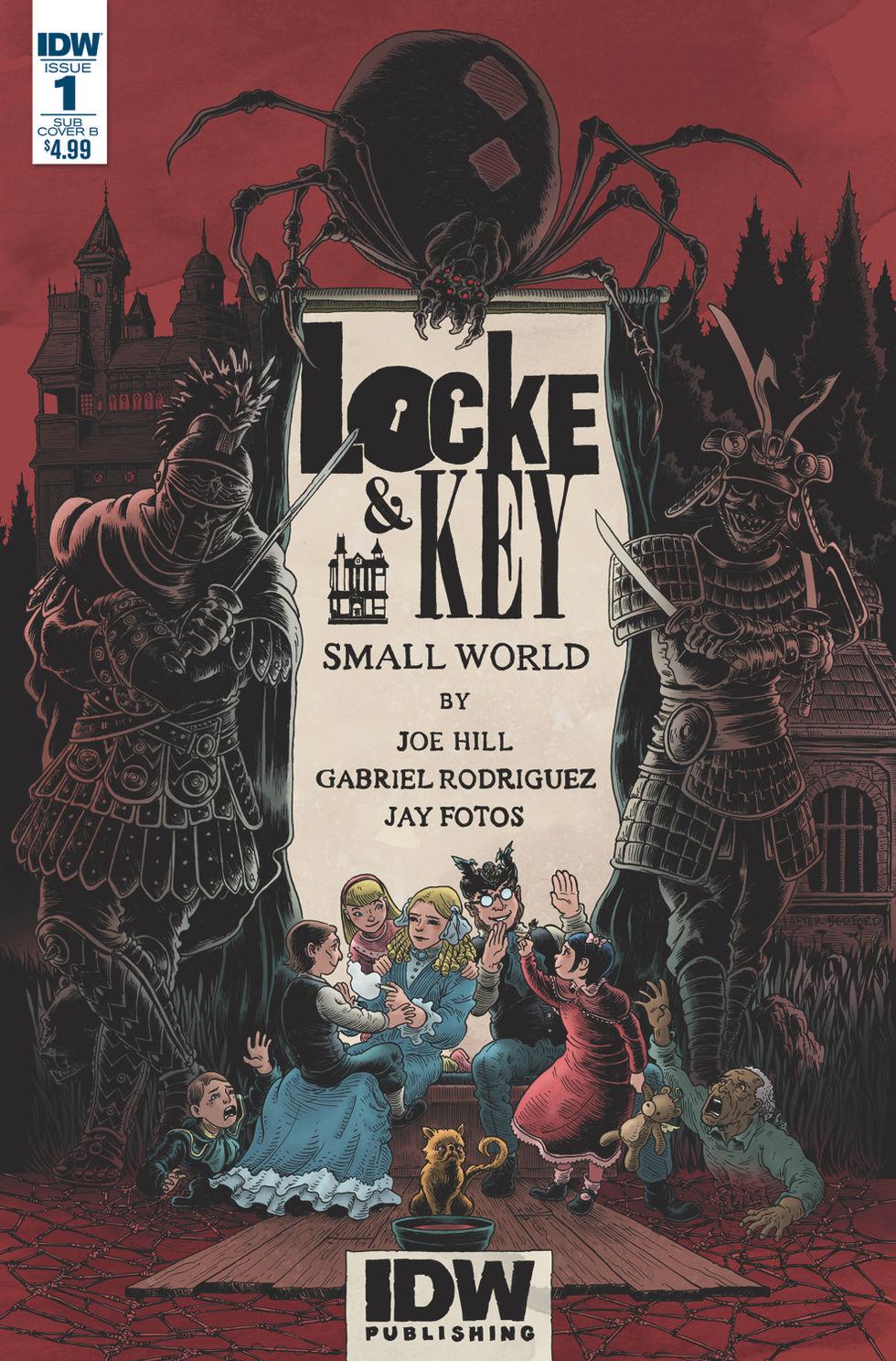 Netflix ska göra tv-serie av Locke & Key