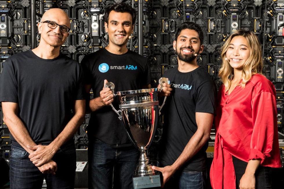 SmartArm vinner Microsofts Imagine Cup