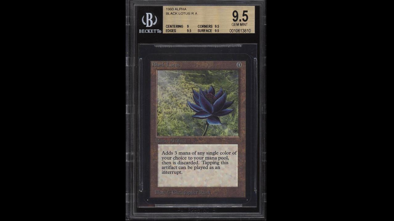 Magic: The Gathering-kort sålt för 775.000 kronor