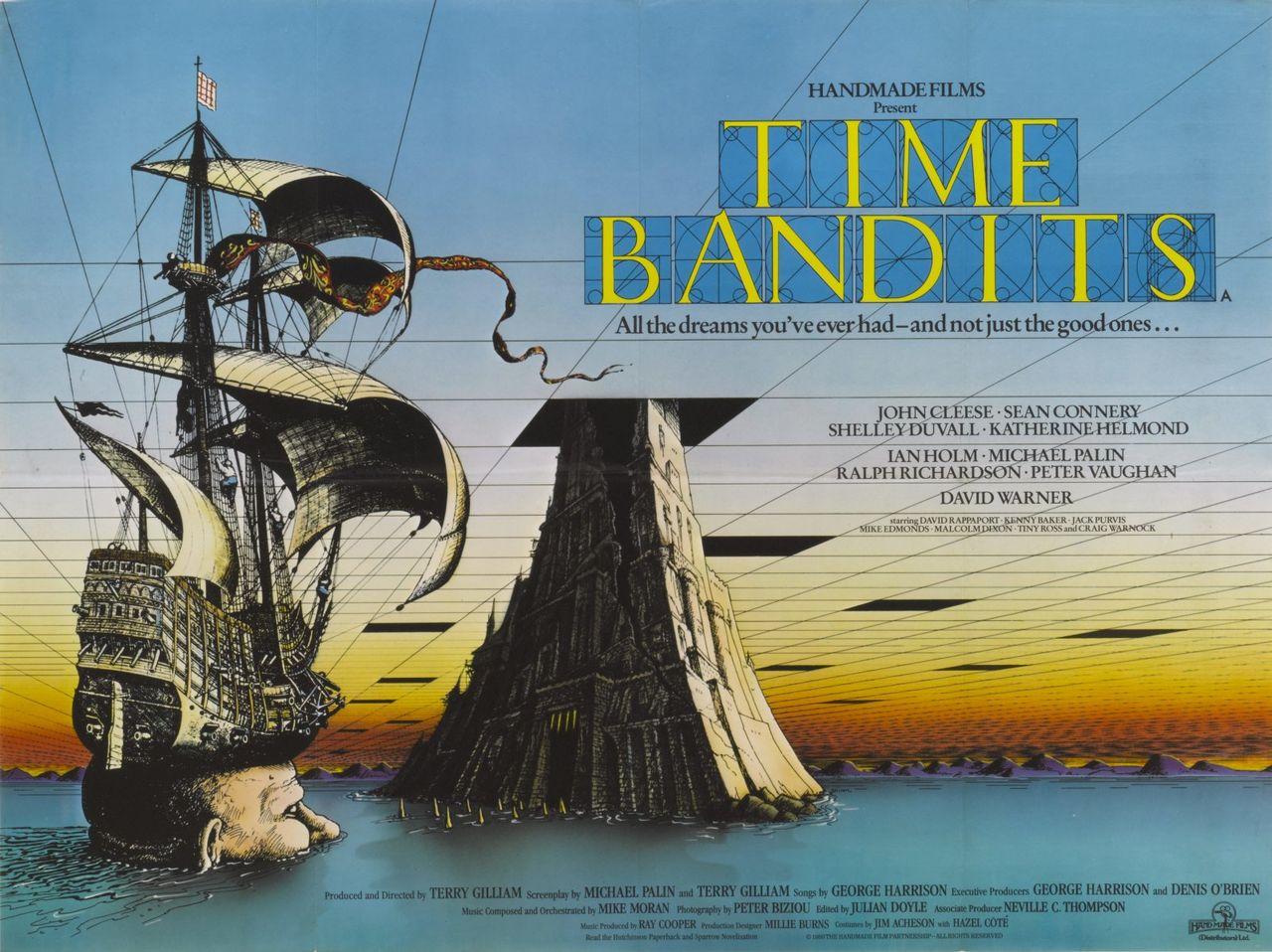 Apple ska göra tv-serie av Monty Pythons Time Bandits