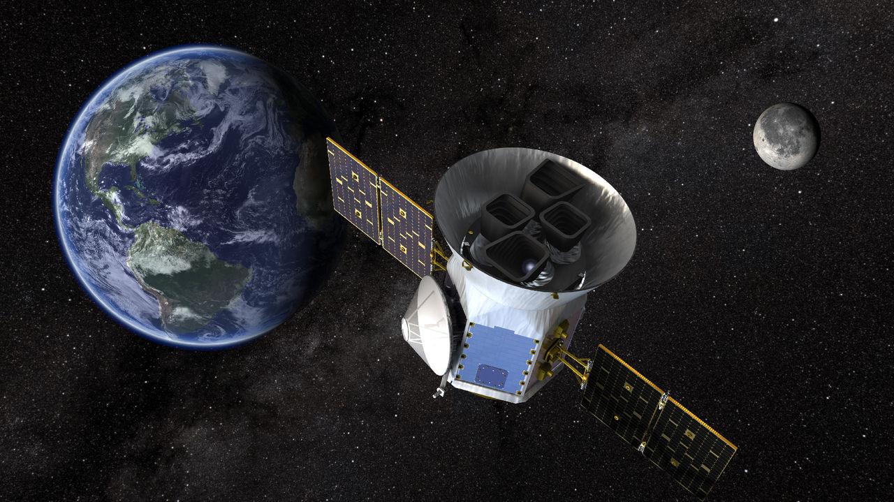 Nu har TESS börjat leta efter planeter