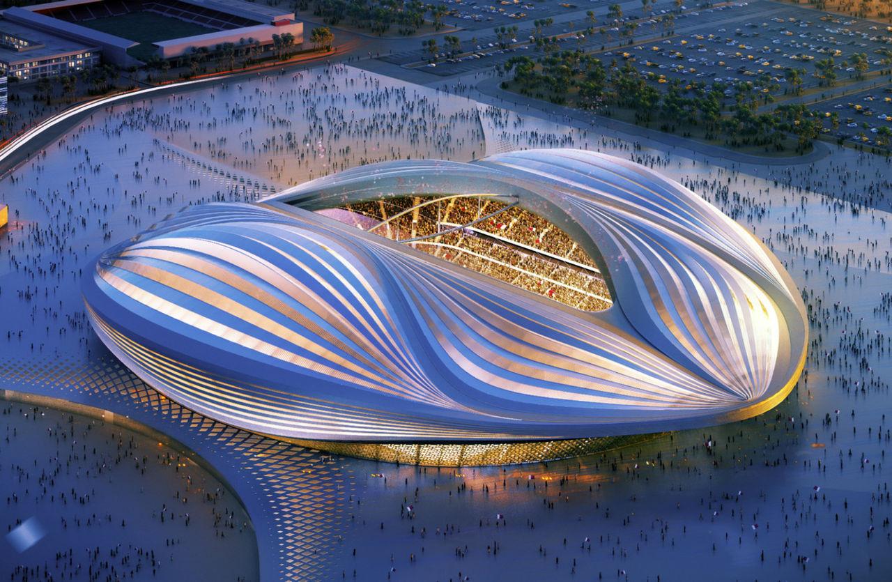 Fulspel från Qatar när landet fick Fotbolls-VM