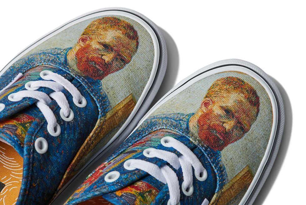 Vans släpper Van Gogh-inspirerad skokollektion