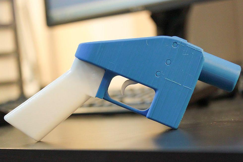 Tillfälligt stopp för 3D-vapen i USA