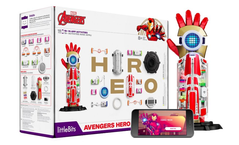 Bli Iron Man med Avengers Hero Inventor Kit