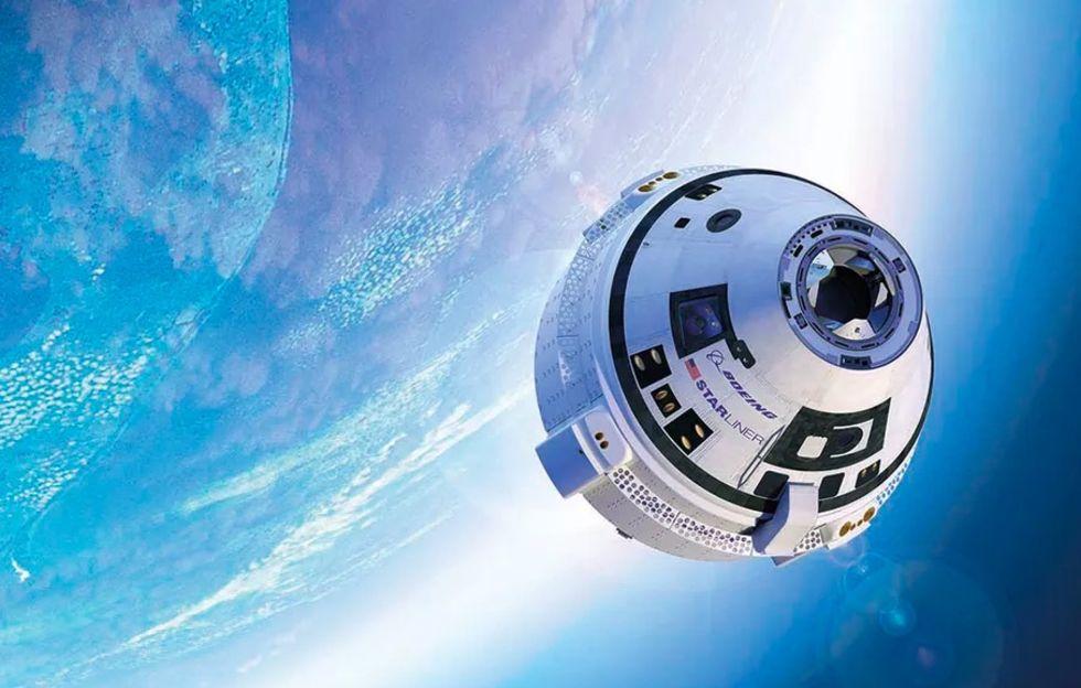 Test av Boeings bemannade rymdfarkost försenas