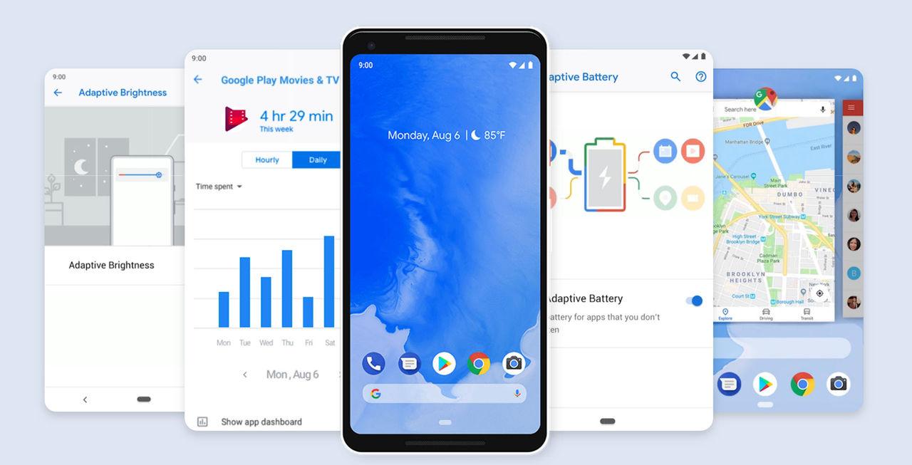 Android 9 heter Pie