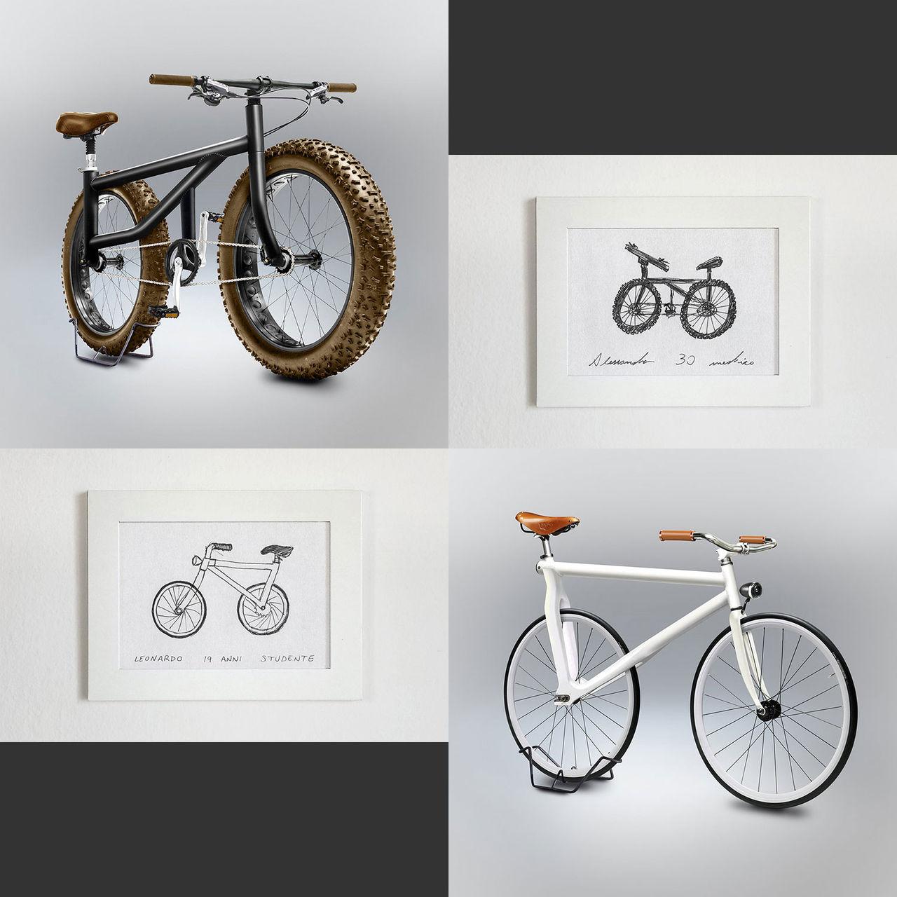 Gianluca har gjort konstiga cyklar lite verkliga