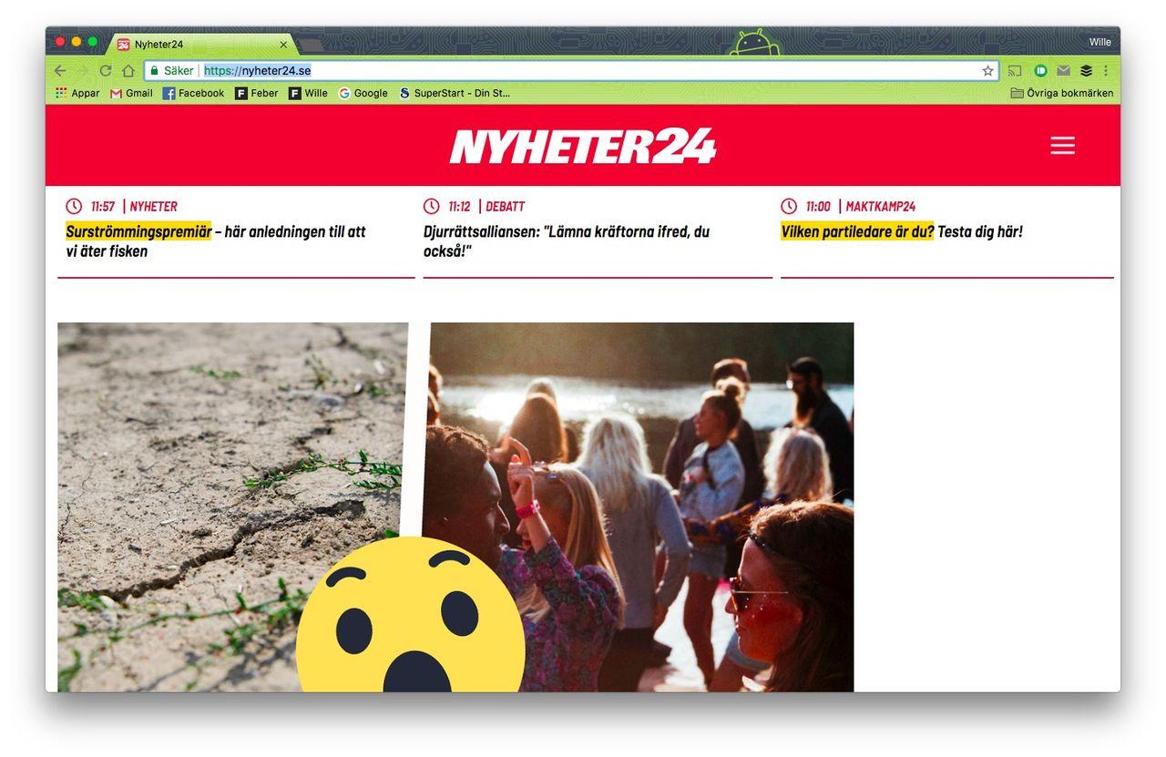Nyheter24 får ny design