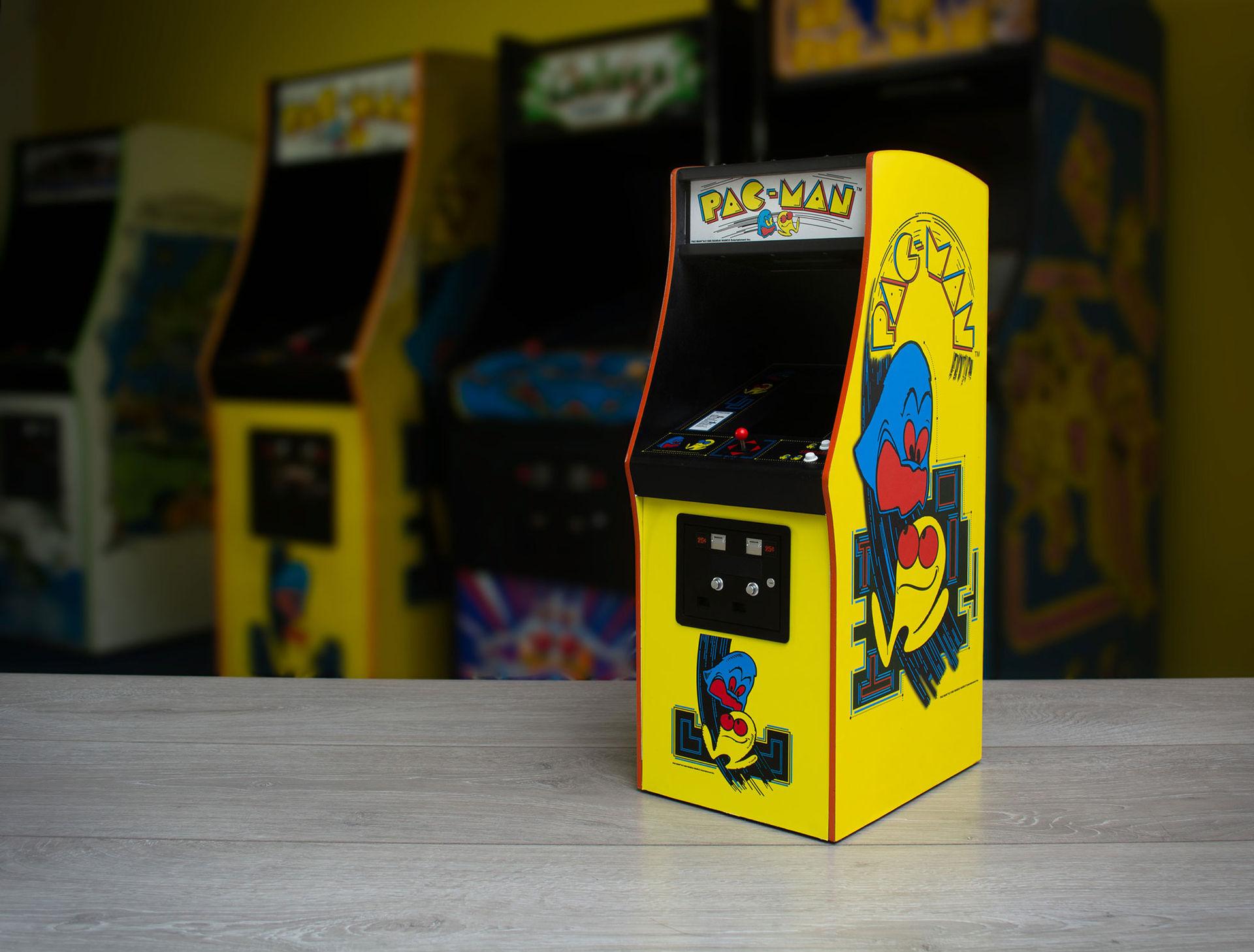 Exakt replika av Pac-Man i arkadform