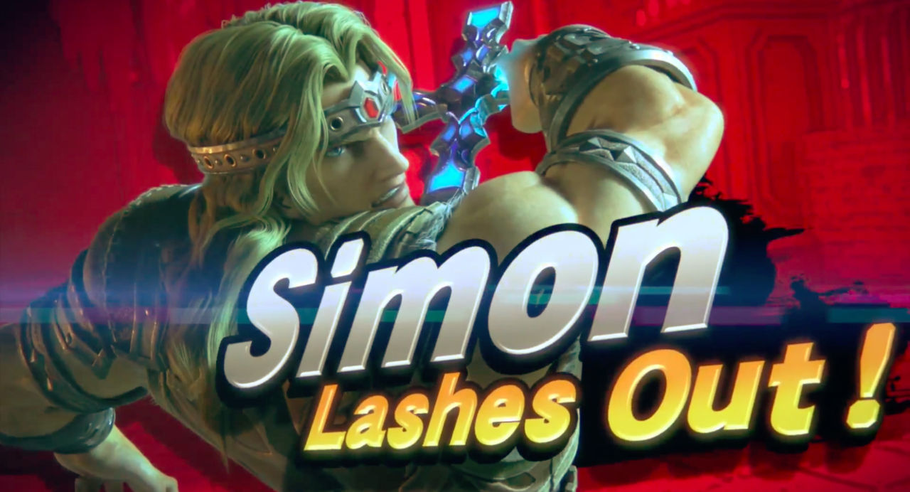Simon Belmont kommer till Super Smash Bros. Ultimate