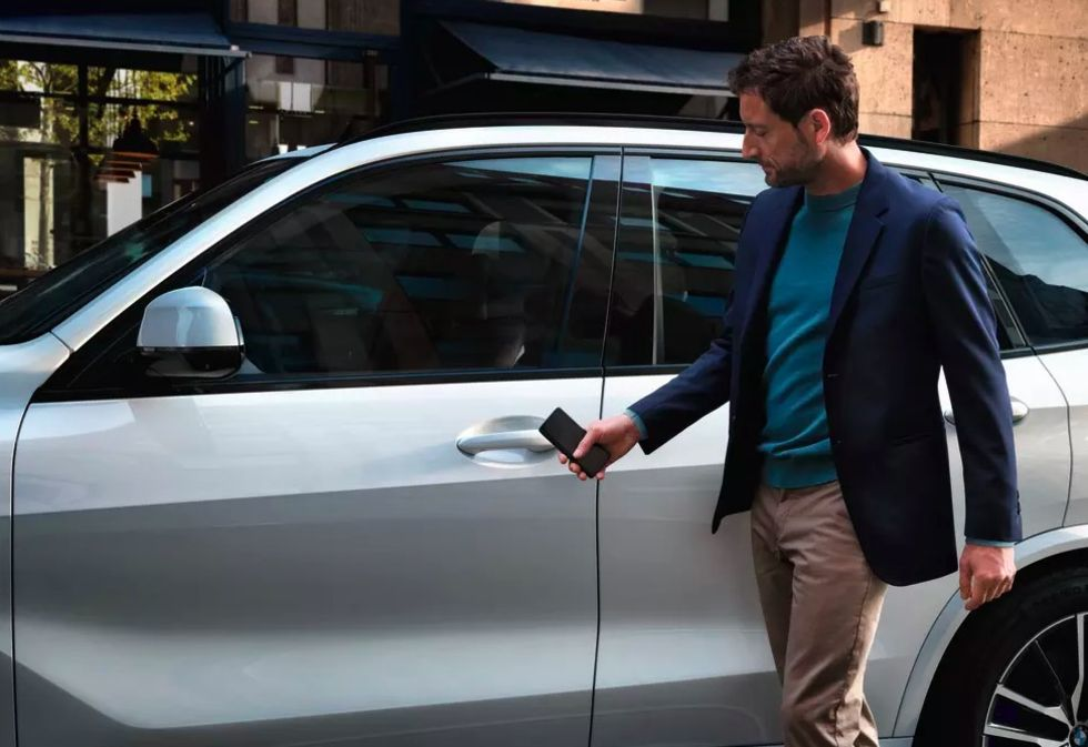BMW lanserar Digital Key