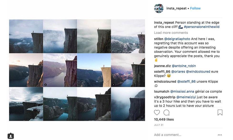 Allas liv ser likadan ut på Instagram