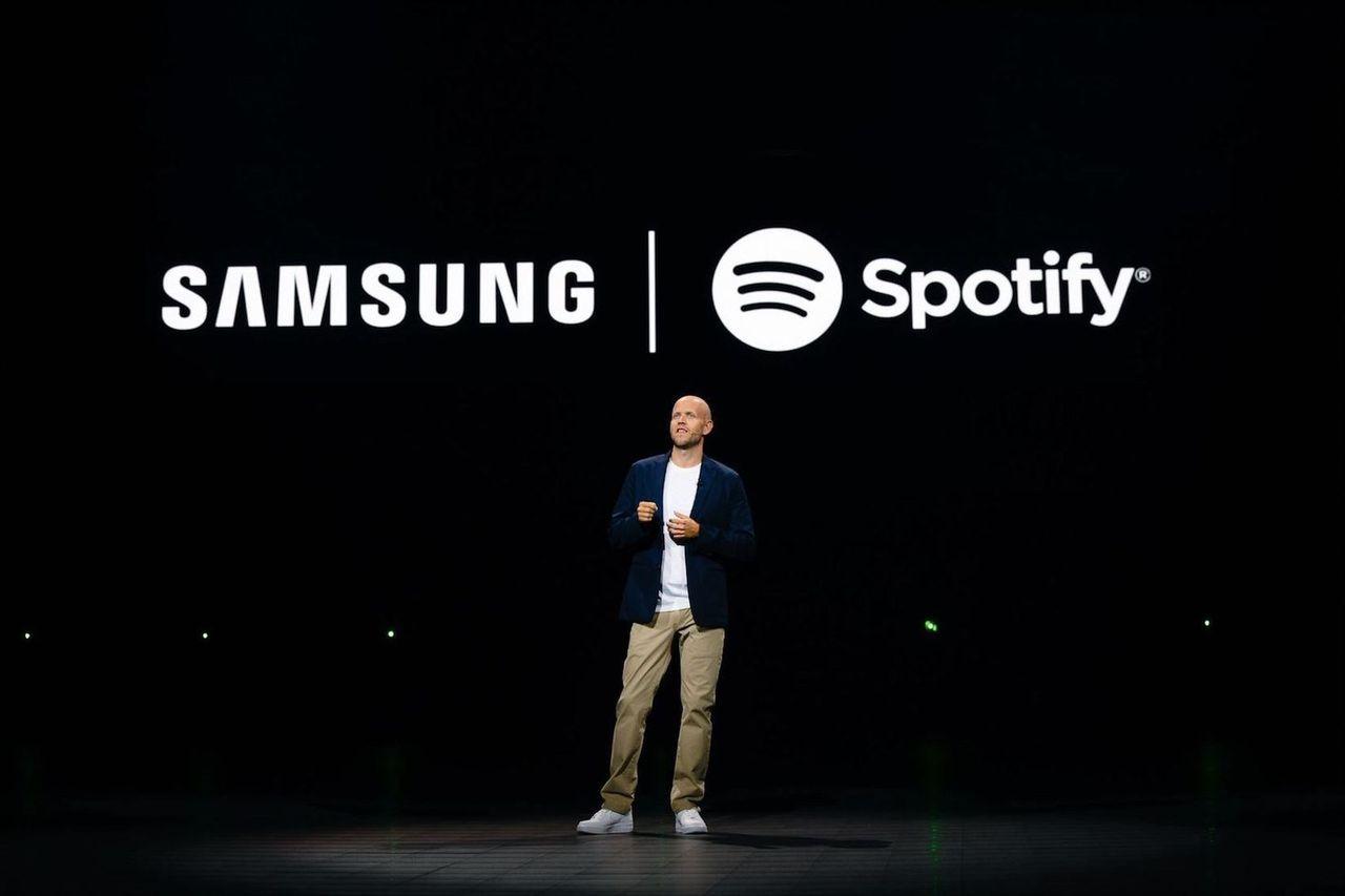 Samsung och Spotify i stort samarbete